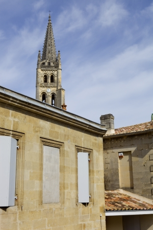 saint emilion architecture, in aquitaine, france Stock Photo - 16325530