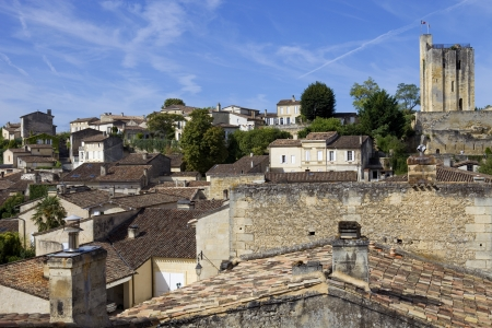 view of saint emilion, in aquitaine, france Stock Photo - 16576674