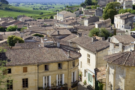 view of saint emilion, in aquitaine, france Stock Photo - 16701481