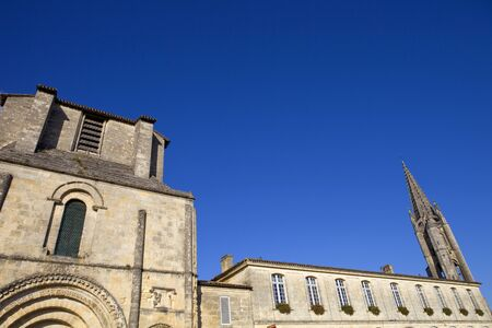 Saint Emilion ancient gothic church, Aquitaine, France Stock Photo - 16720252