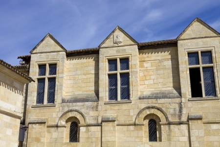 saint emilion architecture, in aquitaine, france Stock Photo - 17063306