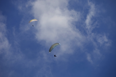 Paragliding Aboua Cup, in the north of Portugal, October 13, 2012, Caldelas, Portugal.