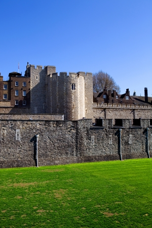 The Tower of London, medieval castle and prison Stock Photo - 17118504