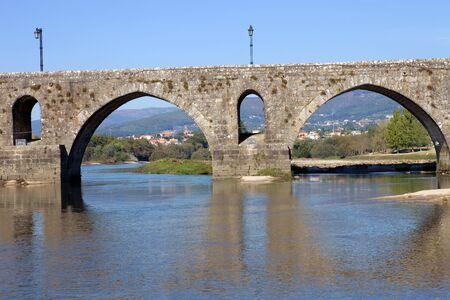 roman bridge of Ponte de Lima in Portugal Stock Photo - 17239027