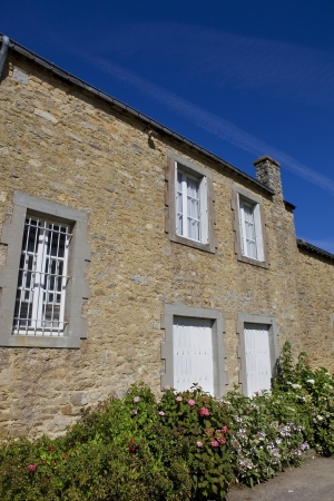 typical brittany house of the north of France Stock Photo - 17261606
