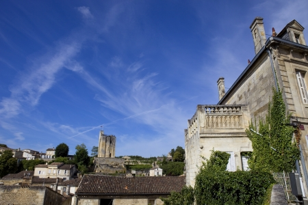 view of saint emilion, in aquitaine, france Stock Photo - 17357504