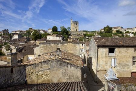 view of saint emilion, in aquitaine, france Stock Photo - 18105532