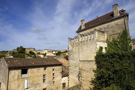 view of saint emilion, in aquitaine, france Stock Photo - 18321779