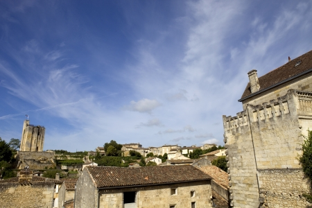 view of saint emilion, in aquitaine, france Stock Photo - 18369330