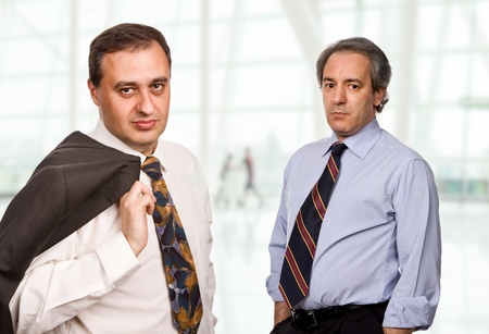 two maure business men at the office Stock Photo - 19476057