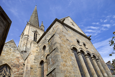 st malo: st malo cathedral in the north of france Stock Photo