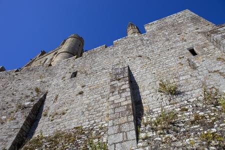 mont saint michel: mont saint michel monastery in brittany, France Stock Photo