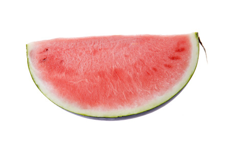 water melon: water melon slice, isolated on white background Stock Photo