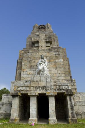 galicia: Monteferro monument at Nigran, Galicia, Spain Stock Photo