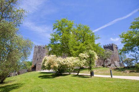 guimaraes: Guimaraes castle, in the north of Portugal.