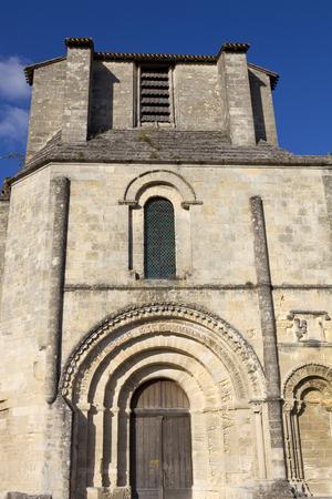 saint emilion: Saint Emilion ancient gothic church, Aquitaine, France