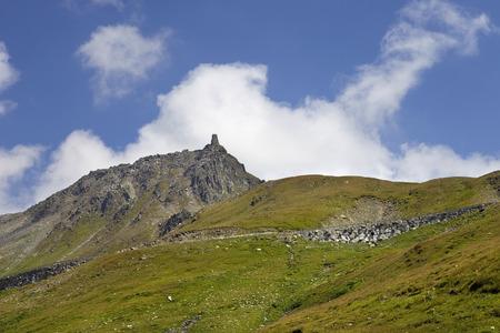 canton berne: Landscape in the swiss alps, canton berne; switzerland