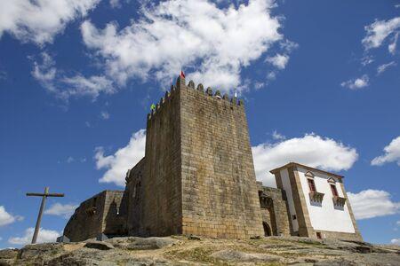 belmonte: Belmonte castle. Historic village of Portugal, near Covilha Editorial