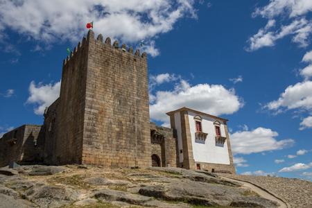 Belmonte castle. Historic village of Portugal, near Covilha Editorial