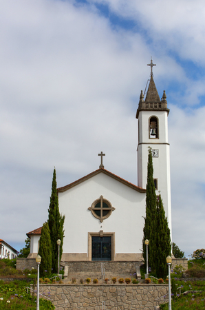 Church of Paredes de Coura in Norte region, Portugal