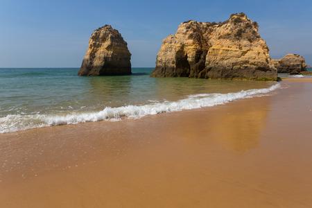 beach of Praia da Rocha, in the Algarve, Portugal