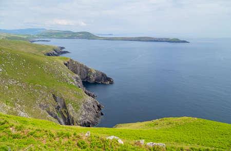 landscape in Beara Peninsula. County Cork, Ireland