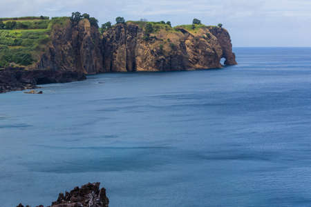Elephant Rock. Photo taken in the beautiful island of S. Miguel, Azores, Portugal. 版權商用圖片