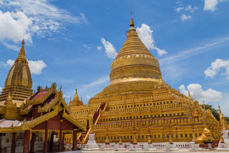 The Shwedagon Pagoda one of the most famous pagodas in the world the main attraction of Yangon. Myanmar's capital city. Shwedagon referred in Myanmar as The crown of Burma