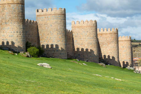 Ancient fortification of Avila, Castile and Leon, Spain
