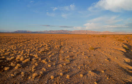 Desert under mountains, located nearby Kerman, South Iran Reklamní fotografie