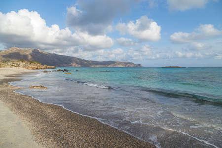 South coastal landscape on Creete, Greece