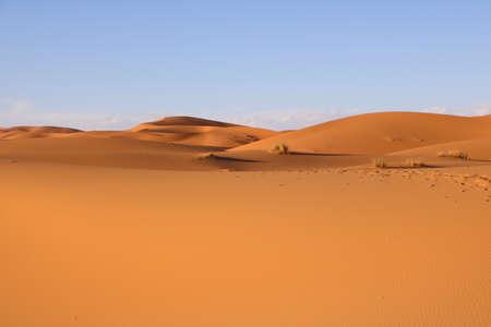 sahara desert dunes, in Morocco