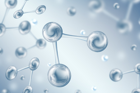 Molecules in water, Science background