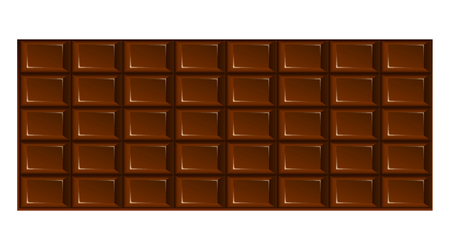 Chocolate Tile. Vector Illustration