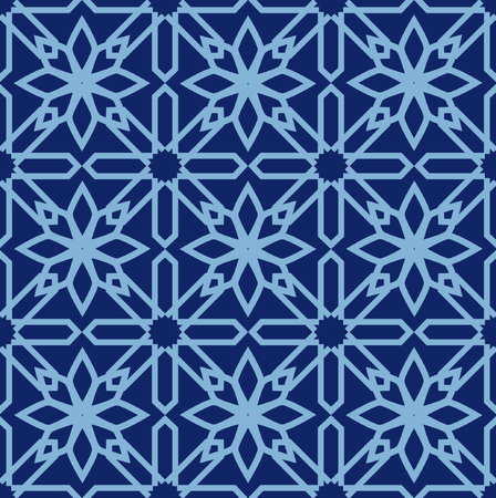 grille: Arabic seamless pattern. Mosaic Oriental Ornaments. Vector illustration.