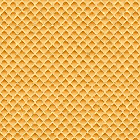 Wafer Seamless Pattern. Vector Illustration