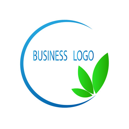Stock vector abstract business logo.