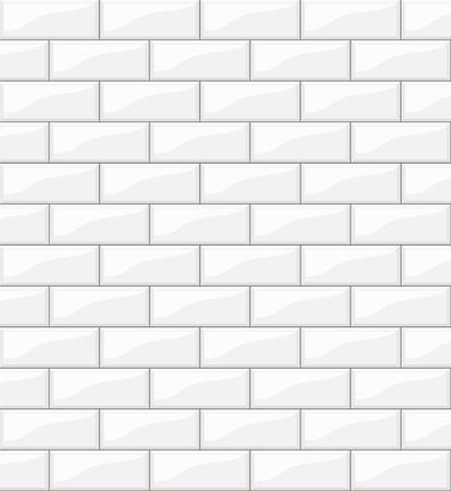 white tiles background for your design, stock vector illustration Ilustrace