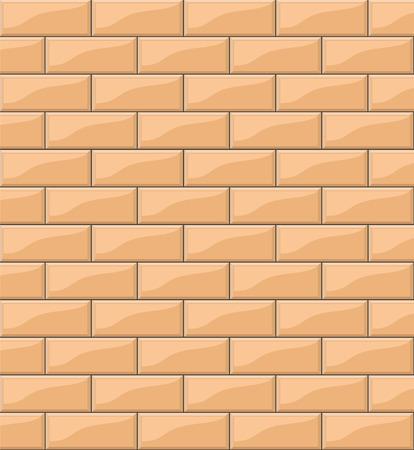 orange tiles background for your design, stock vector illustration