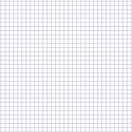 Square grid paper sheet. Seamless note paper illustration