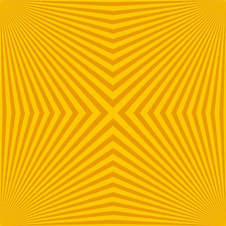 square and radiant backdrop with ray sunburst vector illustration Ilustração