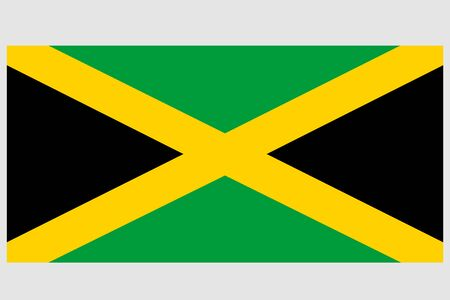 Jamaica vector template background realistic copy  イラスト・ベクター素材