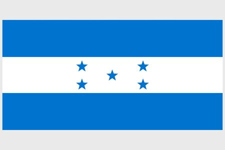 Honduras flag vector template background realistic copy