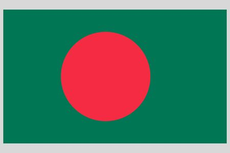 Bangladesh flag vector template background realistic copy  イラスト・ベクター素材