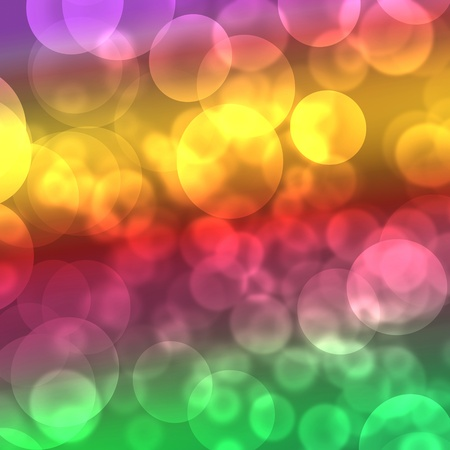 Colorful bokeh effect against the dark background. Stock Photo - 12175294