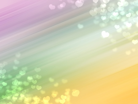 Colorful romantic bokeh background. For graphic design. photo