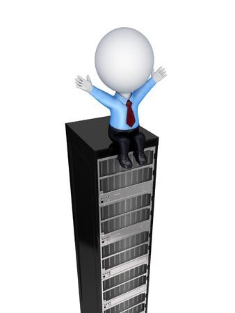 renderfarm: Server concept  Stock Photo