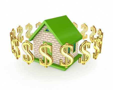 Real estate concept Stock Photo - 13942405