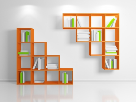 Modern shelf Stock Photo - 13968192