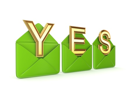 YES concept  Stock Photo - 13968095